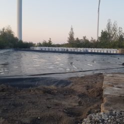 Taca pod odpady z kopalni w miejscowości Mszczonów woj.Mazowieckie