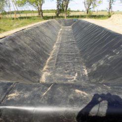 Zbiornik na wodę w miejscowości Pamiątkowo