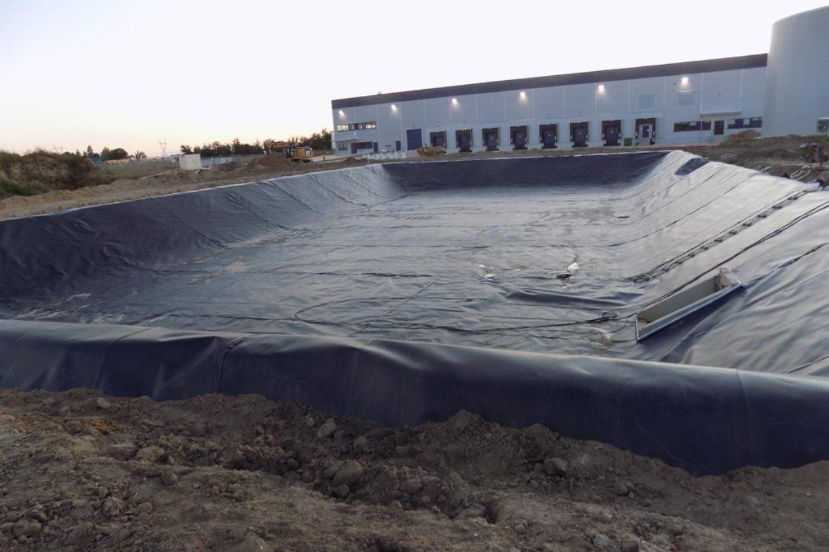 Zbiornik na wodę w miejscowości Poznań