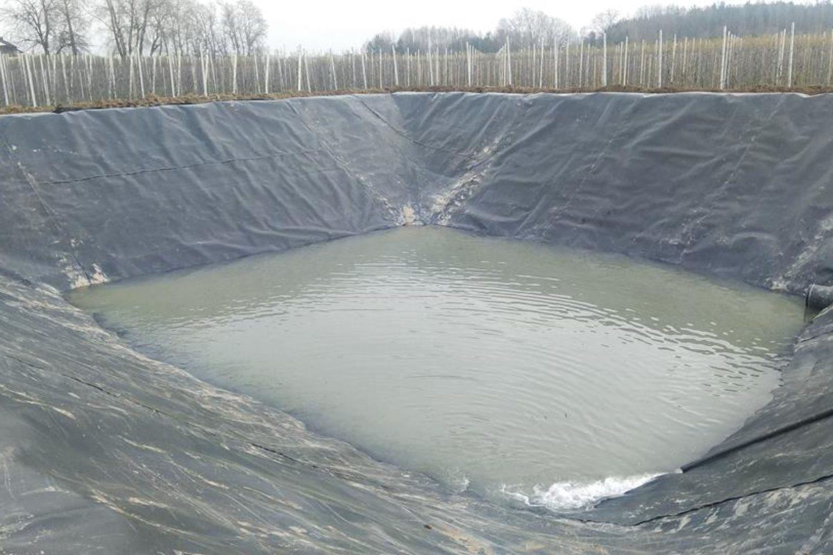 Zbiornik na wodę w miejscowości Pawłówka